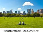 new york  u.s.a.   october 3... | Shutterstock . vector #285690779