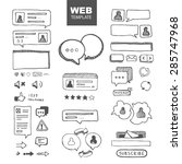 web site ellements sketch. web...