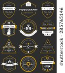 vector collection of... | Shutterstock .eps vector #285765146