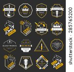 Set Of Vector Badges And Logos...