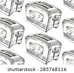 toaster | Shutterstock .eps vector #285768116