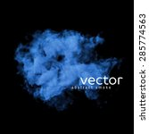 vector illustration of blue... | Shutterstock .eps vector #285774563