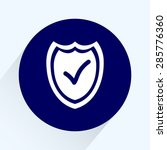 shield sign icons  vector... | Shutterstock .eps vector #285776360