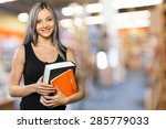 student  teacher  college... | Shutterstock . vector #285779033