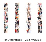 together we stand united... | Shutterstock . vector #285790316
