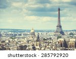 View Eiffel Tower Paris France - Fine Art prints