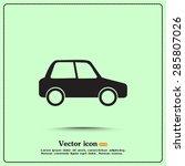 vector illustration of car | Shutterstock .eps vector #285807026