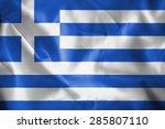 greece flag | Shutterstock . vector #285807110