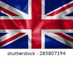 united kingdom flag   Shutterstock . vector #285807194