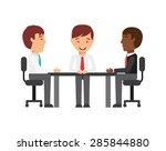 business people design  vector... | Shutterstock .eps vector #285844880