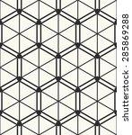 vector seamless pattern.... | Shutterstock .eps vector #285869288