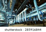 equipment  cables and piping as ... | Shutterstock . vector #285916844