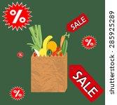 food   Shutterstock .eps vector #285925289