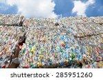 bottle pet plastic  prepare to...   Shutterstock . vector #285951260