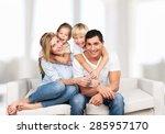 indian  ethnicity  shot. | Shutterstock . vector #285957170