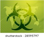 biohazard sign  warning alert... | Shutterstock .eps vector #28595797