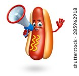 3d rendered illustration of hot ... | Shutterstock . vector #285962918