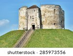 Clifford\'s Tower In York ...
