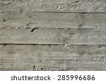 concrete wall with wooden... | Shutterstock . vector #285996686