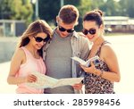travel  tourism  vacation ... | Shutterstock . vector #285998456