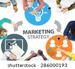 marketing strategy branding...   Shutterstock . vector #286000193