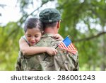 Soldier Reunited With His...