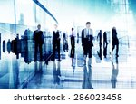ethnicity business people... | Shutterstock . vector #286023458