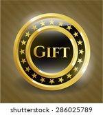 gift shiny badge | Shutterstock .eps vector #286025789