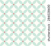 blue leaves pattern | Shutterstock .eps vector #286028600