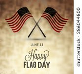 flag day badge background   Shutterstock .eps vector #286044800