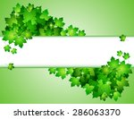 nature background with green...   Shutterstock .eps vector #286063370