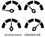 performance icon set  ... | Shutterstock .eps vector #286064168