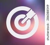 target icon.  | Shutterstock .eps vector #286088549