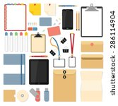 Big Set Of Flat Design Items...