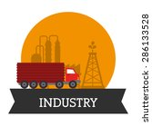 industry design over white...   Shutterstock .eps vector #286133528