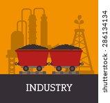 industry design over yellow...   Shutterstock .eps vector #286134134