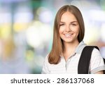 university  student  teenager. | Shutterstock . vector #286137068