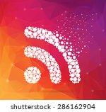 abstract creative concept... | Shutterstock .eps vector #286162904