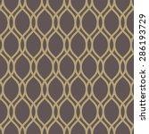 geometric pattern with golden... | Shutterstock . vector #286193729
