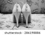 wedding shoes | Shutterstock . vector #286198886