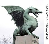 Famous Dragon Statue On Dragon...