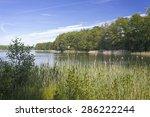 bathing lake in east germany | Shutterstock . vector #286222244