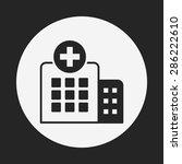 hospital icon   Shutterstock .eps vector #286222610