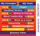 my strategies | Shutterstock .eps vector #286238159