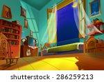 illustration  sweet room  ... | Shutterstock . vector #286259213