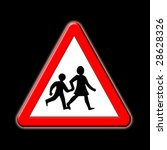 school crossing | Shutterstock . vector #28628326