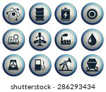 icon set  energy and industry | Shutterstock .eps vector #286293434