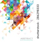 abstract design for web or... | Shutterstock .eps vector #286298333
