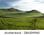 beautiful landscape during... | Shutterstock . vector #286304960