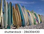 jacksonville beach  fl. usa  ... | Shutterstock . vector #286306430